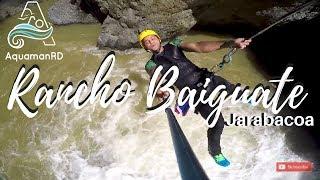 Canyoning en Rancho Baiguate, Jarabacoa | Deporte extremo para aventureros – AquamanRD