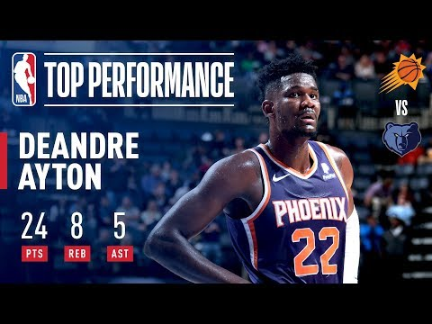 Video: DeAndre Ayton Goes 12 for 13 From the FIELD | October 27, 2018