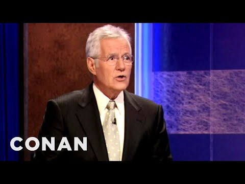 Alex Trebek Has Gone Completely Insane - Conan