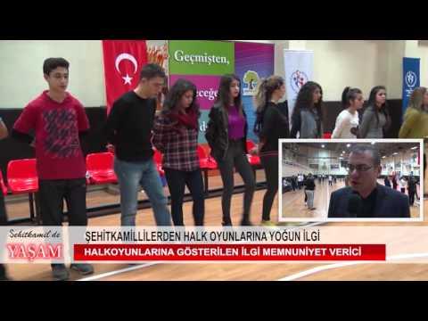 ŞEHİTKAMİL'de halk oyunları