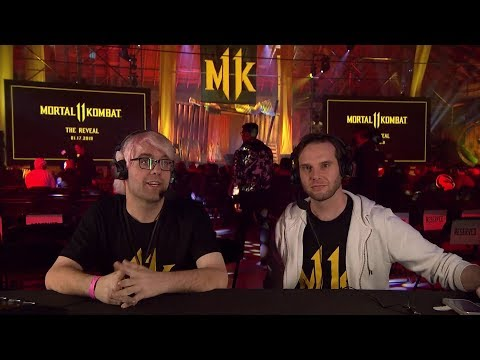 MK11: Exhibition Games (SonicFox, Rewind, Dragon, HoneyBee, Scar, Hayatei Tweedy, GRR)