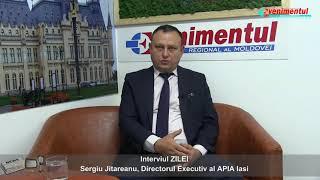 Interviul ZILEI: Sergiu Jitareanu, Directorul Executiv al APIA Iasi