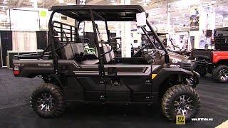 2. 2019 Kawasaki Mule Pro FXT 800 Ranch Edition Utility ATV - Walkaround - 2018 Toronto ATV Show