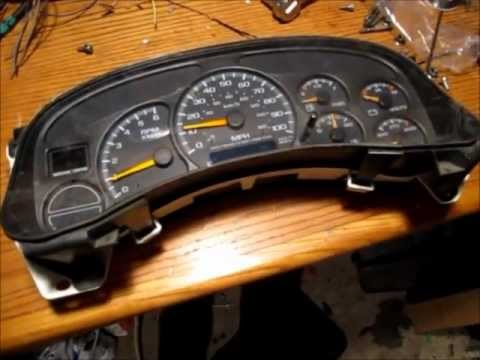 How To Disassemble A Chevrolet Gauge Cluster Amp Stepper