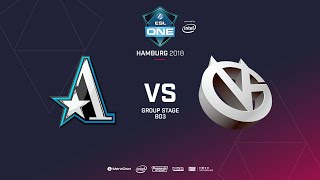 Aster  vs Vici Gaming, ESL  One Hamburg, bo3, game 1 [Adekvat & Mortalles]