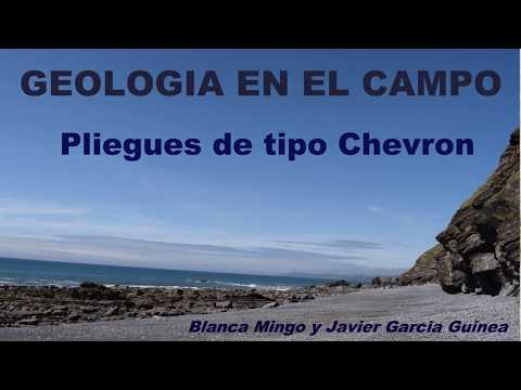 Pliegues geológicos de tipo Chevron