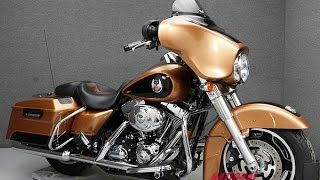 8. 2008  HARLEY DAVIDSON  FLHX STREET GLIDE 105TH ANNIVERSARY  - National Powersports Distributors
