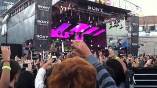 We Can't Stop - Miley Cyrus live @ Jimmy Kimmel Outdoor Concert [06-24-2013]