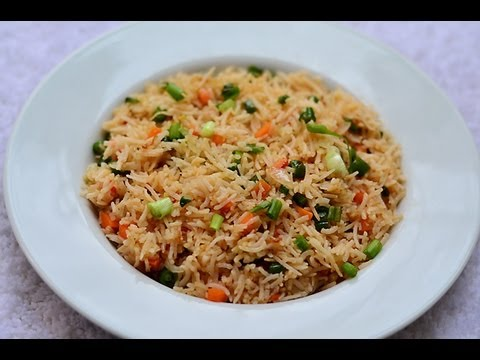 veg - Veg Fried Rice is an Indo Chinese recipe, that combines the flavours of beans and carrots stir fried along with spring onions and tossed with par boiled rice...