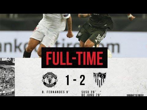 Man United Vs Sevilla 1-2 all Goals and Highlights