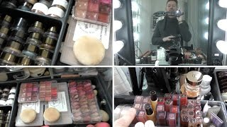 MY MAKEUP STATION - FULL MAKEUP WALK THROUGH! by Wayne Goss