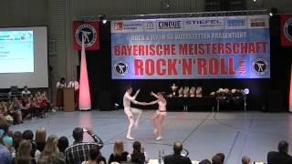 Miriam Schmid & Fabian Kuhn - Bayerische Meisterschaft 2014