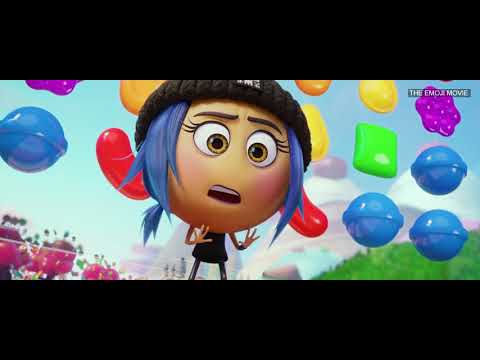 The Emoji Movie - Candy Crush Scene