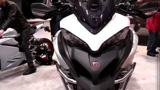 6. 2018 Ducati Multistrada 1200 Enduro ND Premium Features Edition First Impression Walkaround HD