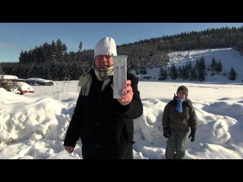 Kachelmann-Wetterbericht aus der sächsischen Kaelteme ...