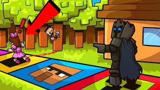 Minecraft: LIFE SIZE BOARD GAME! (THE EPIC BOARD GAME CHALLENGE!) Modded Mini-Game