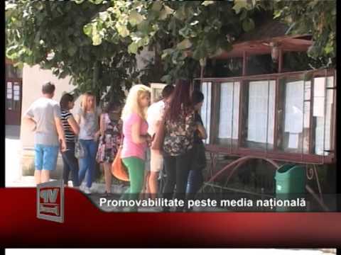 Promovabilitate peste media națională