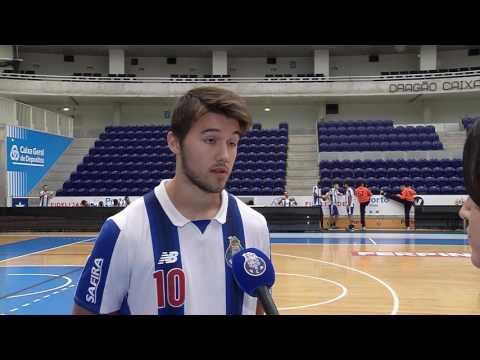 Andebol: Miguel Martins (Antevisão Boa Hora-FC Porto, Andebol 1, 6.ª jornada, 29/09/16)