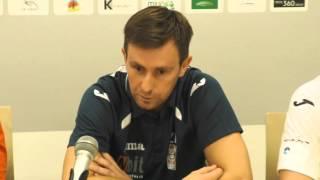 Wypowiedzi po meczu Nbit Gliwice -Gatta Zduńska Wola (6 kolejka)