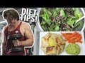 WHAT I EAT IN A DAY TO LOSE FAT ON A VEGAN DIET! (WEEK 1)