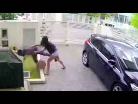 RIDER THIEF robbed FEMALE UFC MMA FiGHTER & Got what he deserves !
