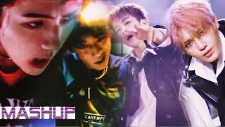 Video NCT 127/EXO - Cherry Bomb/Monster ( MashUp ♪ ) MP3, 3GP, MP4, WEBM, AVI, FLV Januari 2018