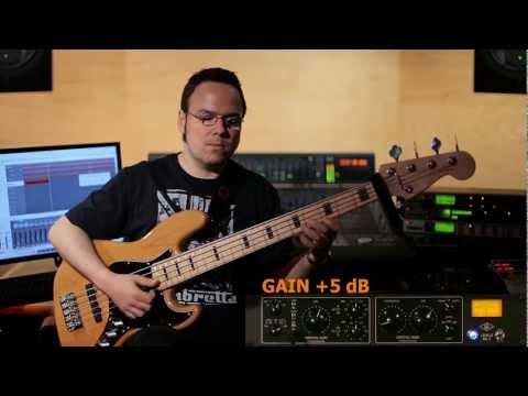 Universal Audio LA-610 MKII on Bass