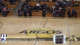 Argos Boys Basketball vs Triton - Bi-County Tourney