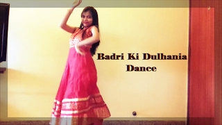 Hey, Everyone! This is Swati. Please Like, Share and SUBSCRIBE to my channel guys it really means a lot to me:) Presenting new Bollywood song BADRI KI ...