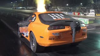 The FASTEST Stick Shift Supra EVER! (1600hp 2JZ) by 1320Video
