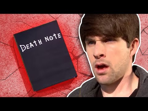 parodia death note!