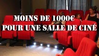 2 week-ends et 1000€ pour votre salle de ciné !
