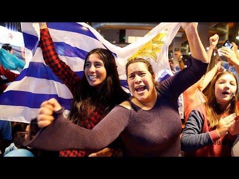 Μουντιάλ: Πανηγυρισμοί στο Μοντεβιδέο, δάκρυα στη Λισαβόνα…
