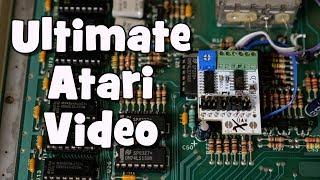 Frustrated with blurry composite and even worse RF video quality from your Atari 8 bit console or computer? Well the UAV is the answer. The Ultimate Atari Video board was designed by AtariAge forum member Brian and works with the Atari 2600, 5200, 7800 and all of the 8 bit computers. It works by bypassing the junk video system and delivers clear composite and sharp s-video.In this video I install the UAV in my Atari 800XL computer.For more information about the board, install notes and to purchase it, go to this thread at AtariAge:http://atariage.com/forums/topic/260267-the-uav-rev-d-video-upgrade-thread/Follow me on Twitter @ToddsNerdCaveAlso you can now follow me on Facebook @ToddsNerdCave