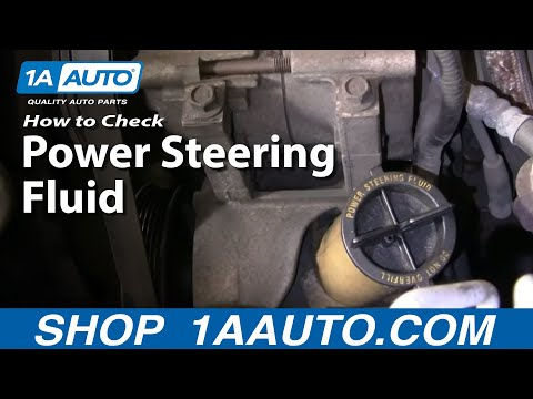 how to fill power steering fluid