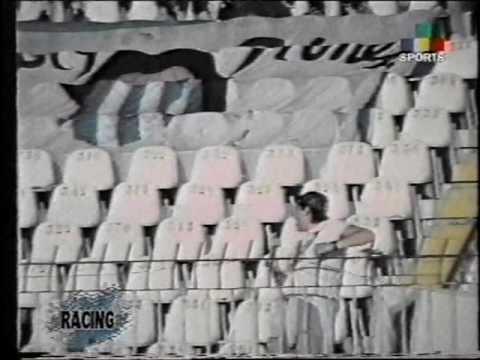 1997 - Partido de Supercopa Racing vs. vasco Da Gama - Brasil - La 95 Pte. - La Guardia Imperial - Racing Club - Argentina - América del Sur