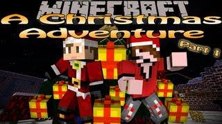Minecraft: A Christmas Adventure w/Deadlox part 1 - Santa's Stash (Command Block Map)