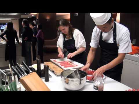 Cooking Class In Okura Hotel Amsterdam, Chef Nonaka
