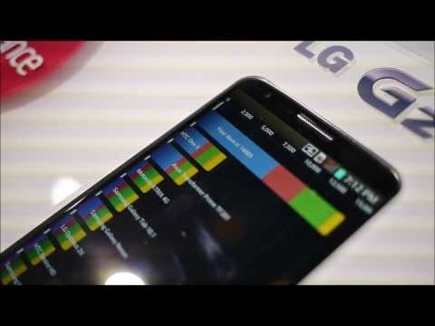 LG G2 hardware performance