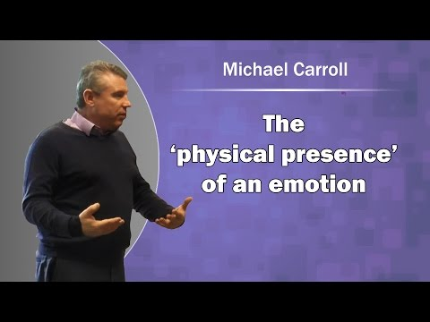 NLP the 'physical presence' of an emotion