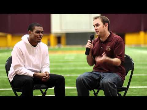 Brock Vereen Interview 9/27/2011 video.