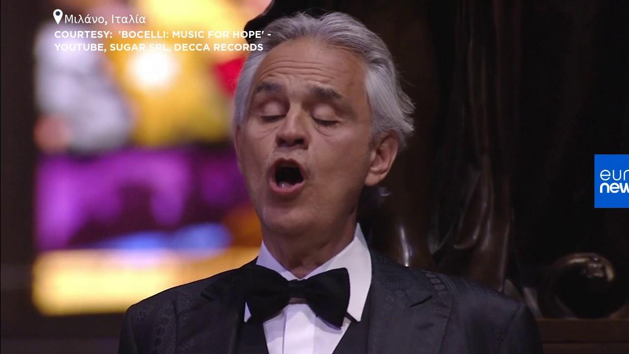 Συναυλία-προσευχή του Αντρέα Μποτσέλι στο Ντουόμο του Μιλάνου