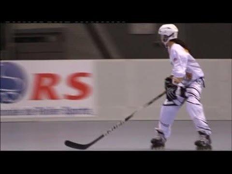 Rencontre avec l'équipe de France de roller hockey