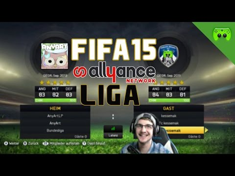 FIFA 15 Allyance Liga # Spieltag1 - AnyArtLP  «» Let's Play FIFA 15 | FULLHD
