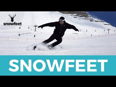 Snowfeet - Skates for Snow - New Booming Winter Sport