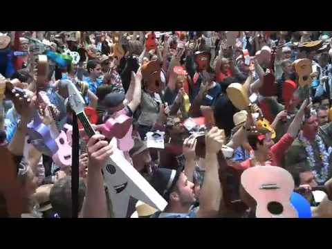 London Ukulele World Record Attempt, 2009 – Sloop John B