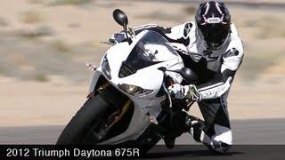 2. MotoUSA 2012 Triumph Daytona 675R Comparison