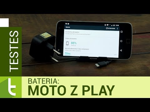 Autonomia do Moto Z Play  Teste de bateria oficial do TudoCelular