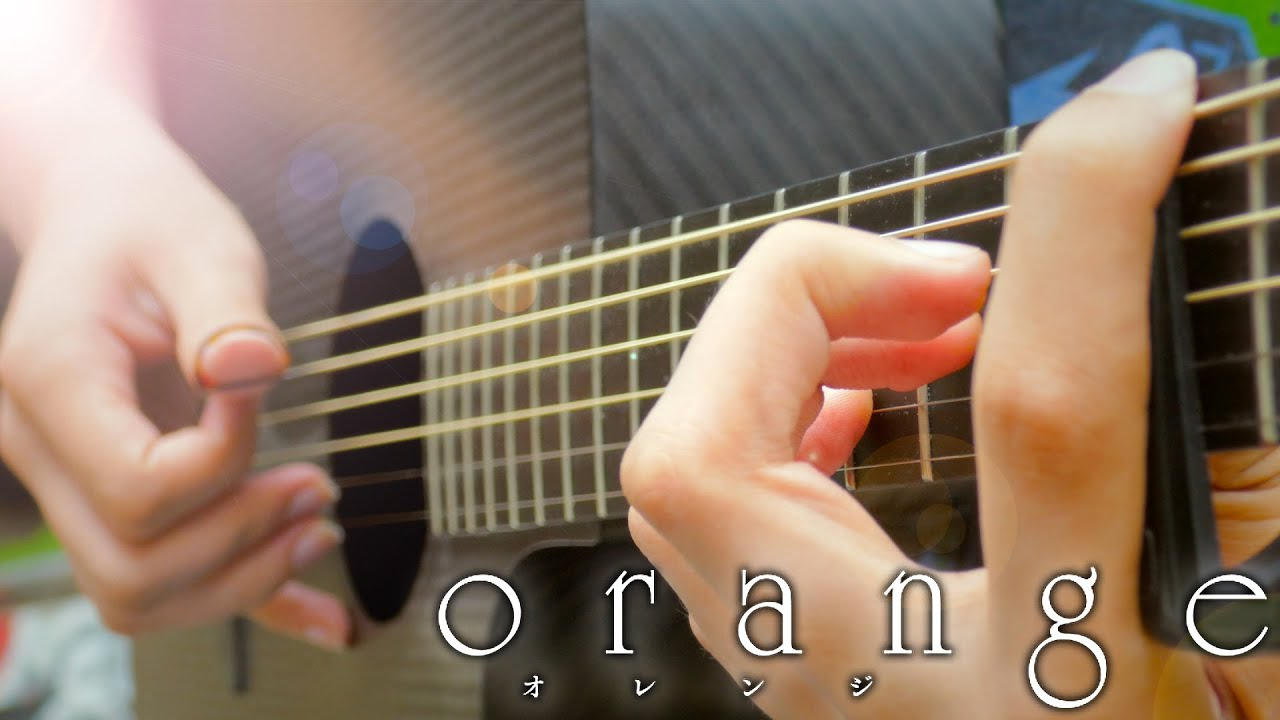 Orange ED 'Mirai' [Fingerstyle Guitar Cover by Eddie van der Meer] オレンジ Ending