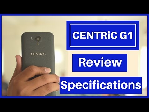 CENTRiC G1 Smartphone Review in हिंदी !